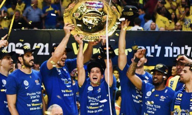 Maccabi Tel Aviv looks ahead to the 2021/22 season