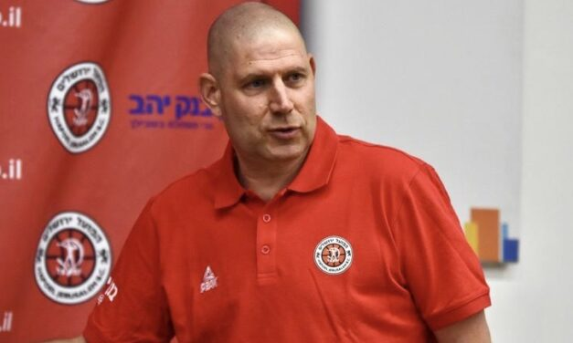 """""""It was a dream to one day become the head coach of Hapoel Jerusalem"""" Oren Amiel introduced by the Reds"""