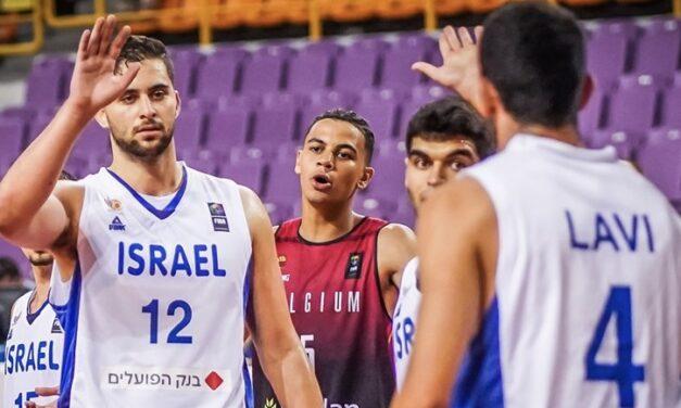 Israel U20's win second straight at Crete Challenger 75-49 over Belgium