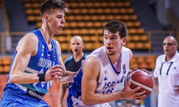 Israel U20's fall to Slovenia 69-59; record drops to 2-1