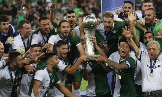Maccabi Haifa wins the Israel Super Cup 2-0 over Maccabi Tel Aviv