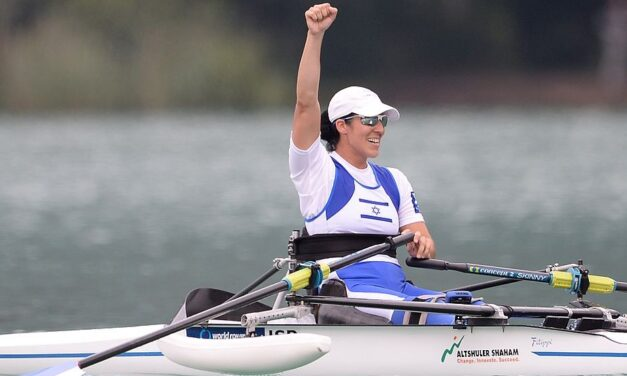 The Paralympic Games – Moran Samuel and Doron Shaziri lead the pack for Blue & White