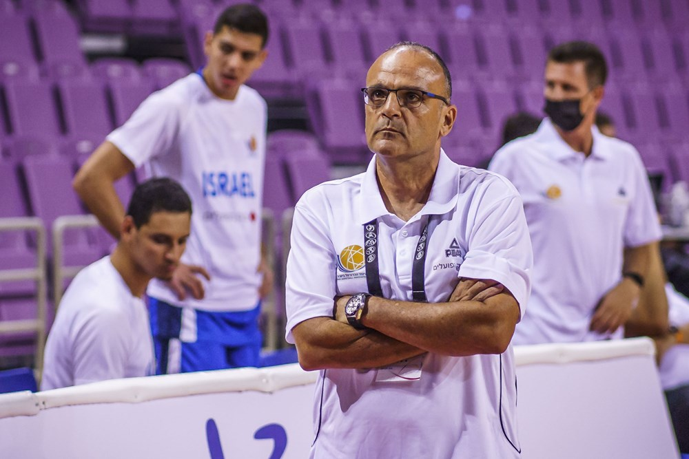 Ariel Beit Halahmy on the sidelines