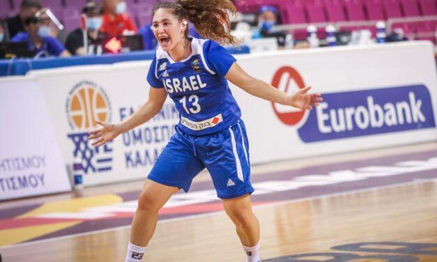 צ'לנג'ר: נבחרת הנערות ניצחה 64:76 את סלובקיה