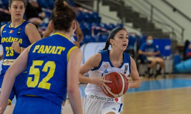 נבחרת הקדטיות הפסידה 52:43 לרומניה בצ'לנג'ר