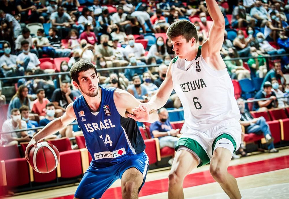 נבו זומרפלד נבחרת הנוער בכדורסל