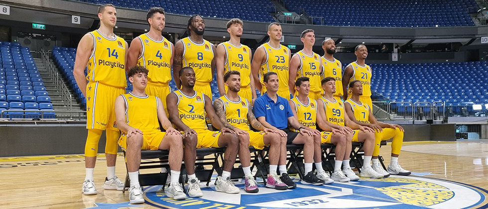"""""""We will fight every game like we always do"""" Sfairopoulos and Maccabi begin on court preparations for the new campaign"""