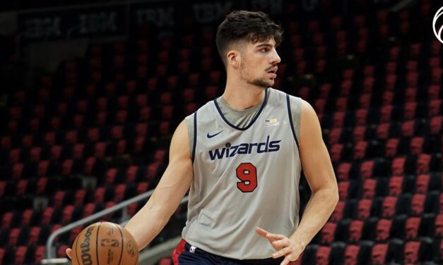 Deni Avdija is learning the importance of patience entering Year 2 in the NBA