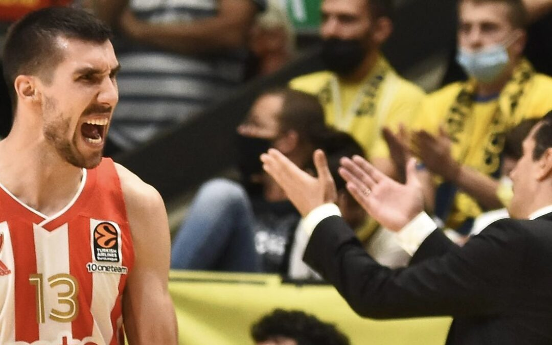 Red Star tops Maccabi 75-63, sends Yellow & Blue to first defeat