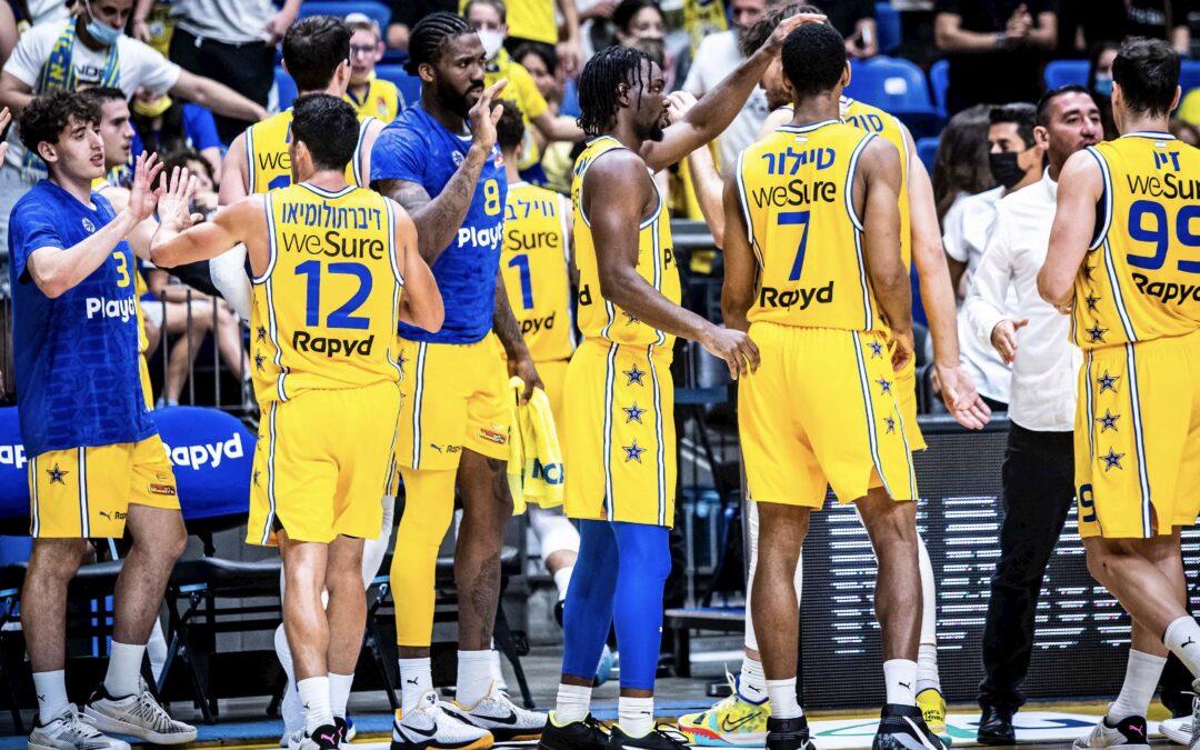 Maccabi begins league play with 84-59 win over Hapoel Haifa
